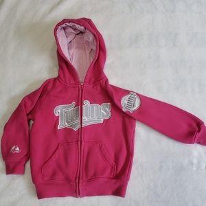 Kids TWINS zip up hoodie
